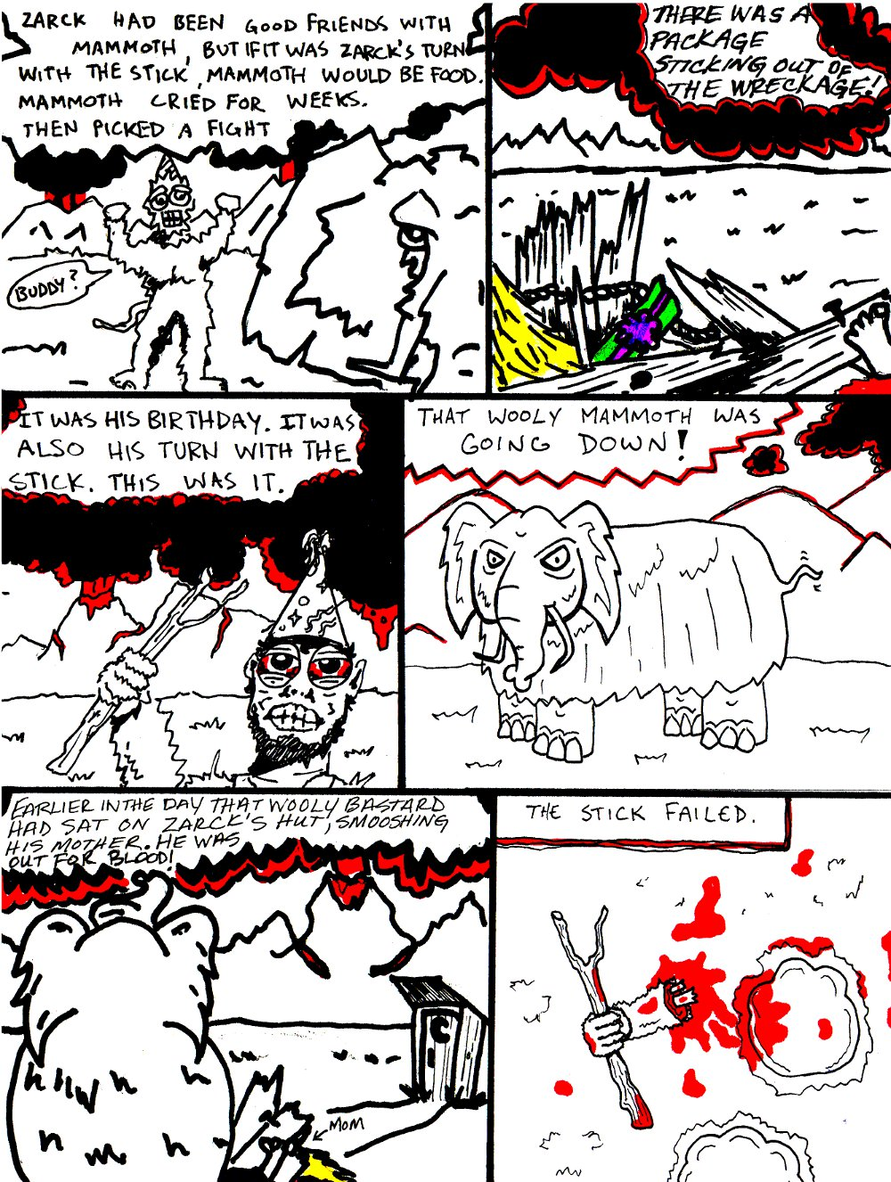 ZARCK AND MAMMOTH (by Marx McNeill, Nate Crone, and Stacey McCulley)