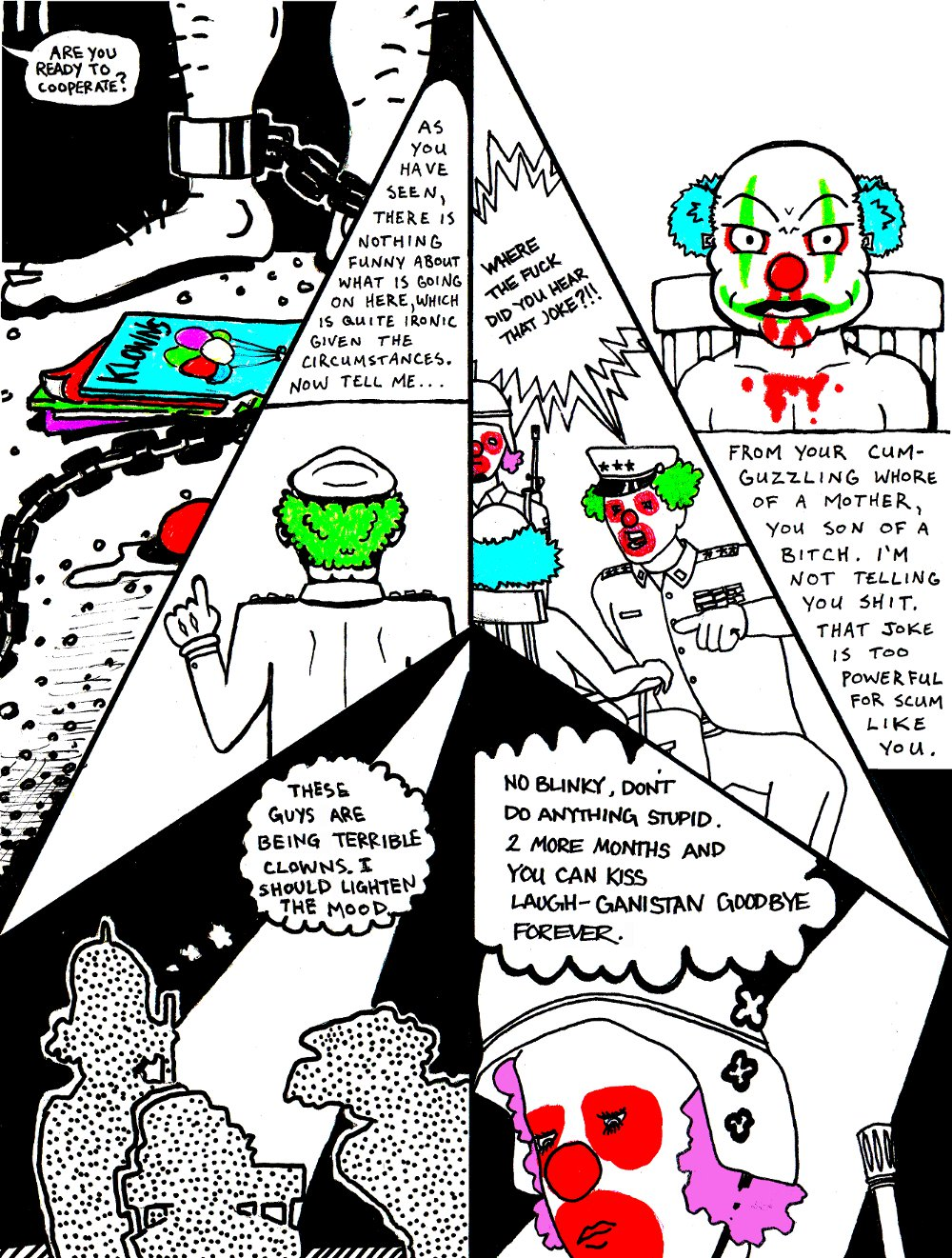 INTERROGATION (by Marx McNeill, Nate Crone, and Ed Rivera)